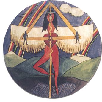 was ist Holotropes Atmen | Mandala von Brigitte Ashauer-Grof